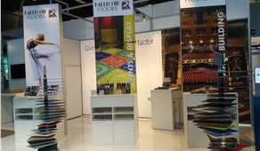 Harlequin Floors auf der Messe STAGE I SET I SCENERY 2017