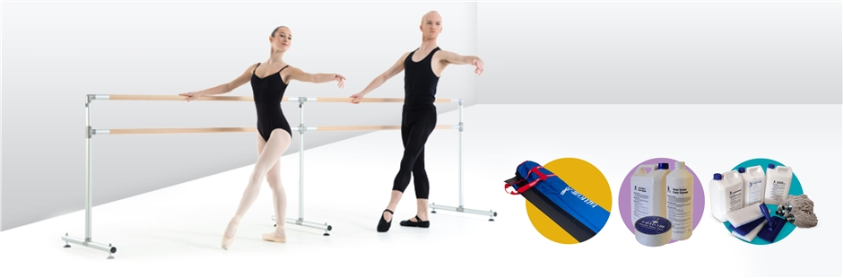 Buy ballet barres, tape and more online The UK Harlequin Shop