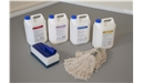 Harlequin vinyl floor cleaning products