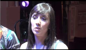 Janette Manrara & Robbie Kmetoni from Burn The Floor
