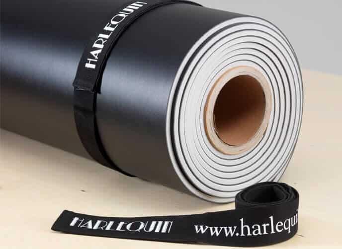 Klettband für Harlequin Tanzteppichrollen
