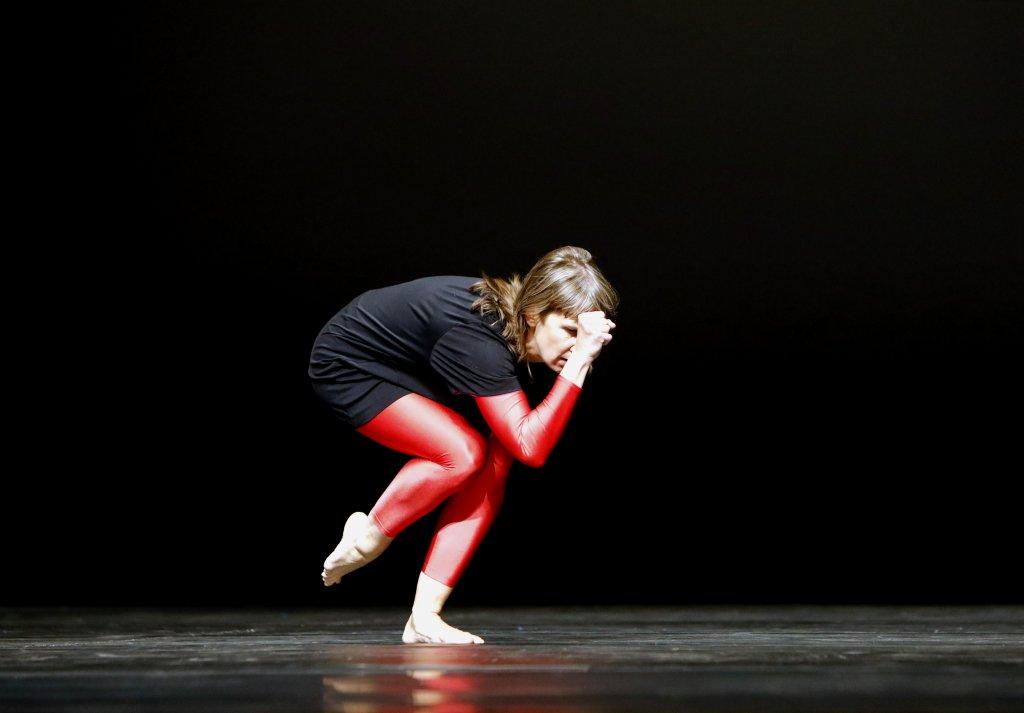 Antje Pfundtner tanzt auf Harlequin Liberty und Harlequin Cascade