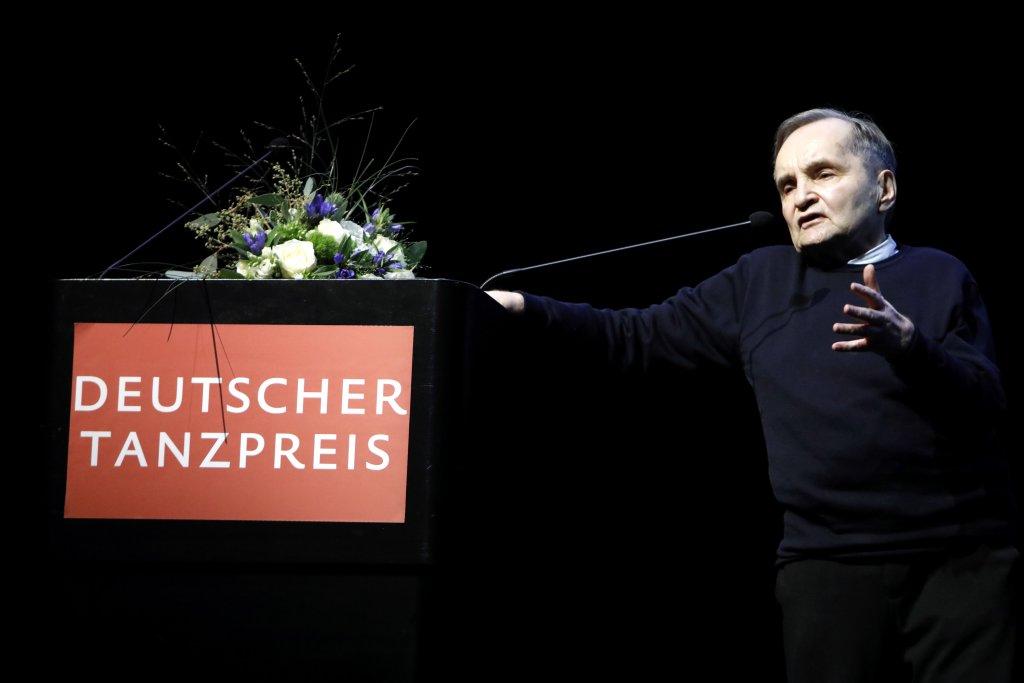 Raimund Hoghe, Preisträger 2020 des Deutschen Tanzpreises