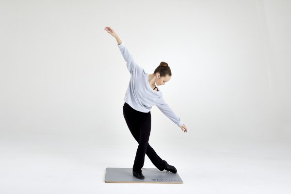 Harlequin Tap and Turn Board mit Tänzerin