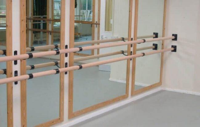 Buchenholz-Ballettstange 1,5m