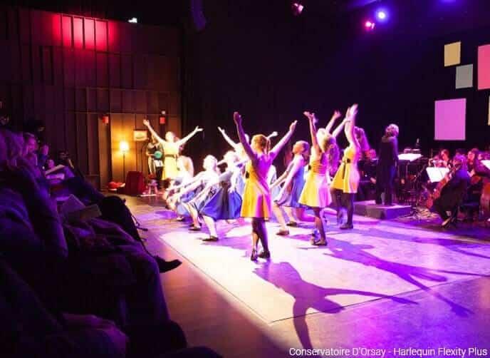 Conservatoire D'Orsay - Harlequin Flexity plus