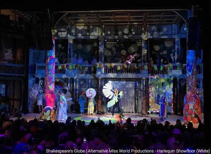 Shakespeares globe showfloor