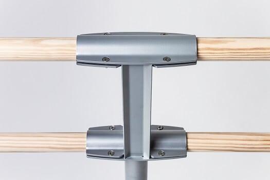 Steel freestanding ballet barre 1