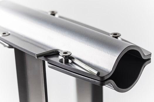 Steel freestanding ballet barre 3