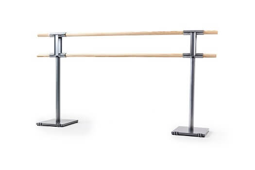 Steel freestanding ballet barre 4